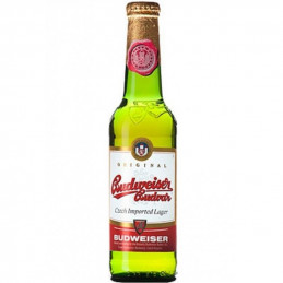 бира Budweiser 5.0- стъкло...