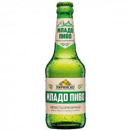 бира Пиринско младо 4.4% 330мл