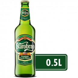 бира Starobrno 5,0- стъкло...