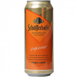 бира Schofferhofer 5.0% кен...