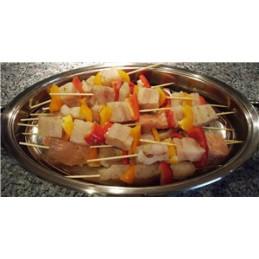 шишче пилешко със зеленчуци...