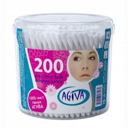 клечки за уши памучни Agiva...