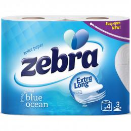тоалетна хартия Zebra Color...