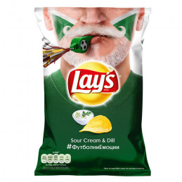 чипс Lays сметана и копър...