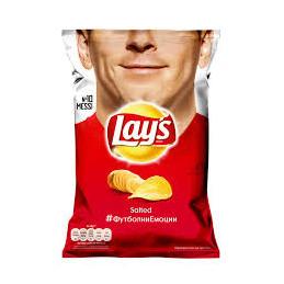 чипс Lays сол 140гр