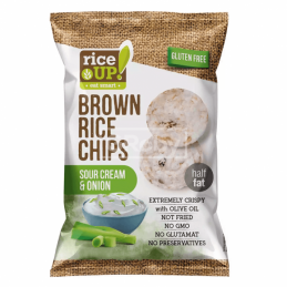 чипс оризов Rice Up лук и...