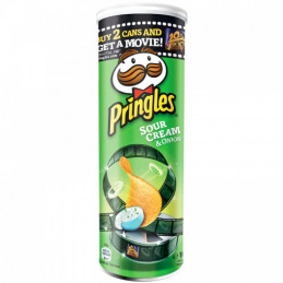 чипс Pringles лук и сметана...