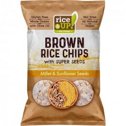 чипс оризов Rice up със...