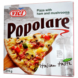 пица Vici с шунка и гъби...