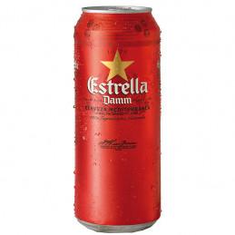 бира Estrella 4.6- кен 500мл