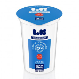 мляко кисело Ел Би БДС 3.6-...