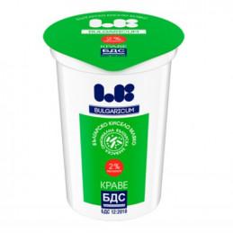 мляко кисело Ел Би БДС 2%...