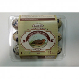 яйца от пъдпъдъци Коки 12бр