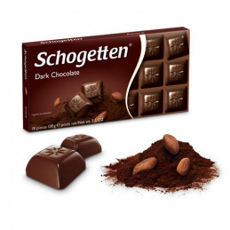 шоколад Schogetten тъмен 100гр