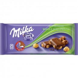 шоколад Milka цял лешник 100гр