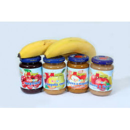 пюре Мандев ябълки и банани...