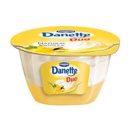 десерт Danette Duo ванилия...