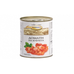 домати на кубчета Фамилекс...
