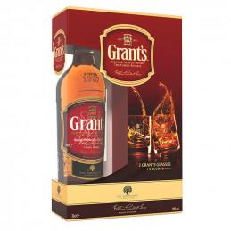 уиски Grants 700мл+ 2 чаши