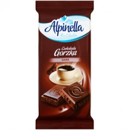 шоколад Alpinella черен 90гр