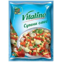 смес Vitalino за супа 450гр...