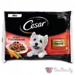 пауч за куче Cesar Po...
