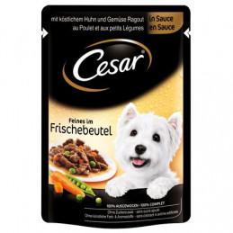 пауч за куче Cesar Po пиле...