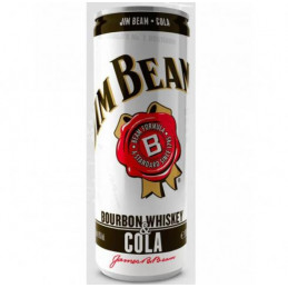напитка Jim Beam with cola...