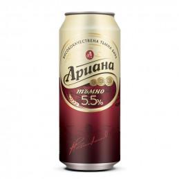 бира Ариана тъмно 5.5- кен...