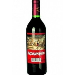 вино червено Механджийско...